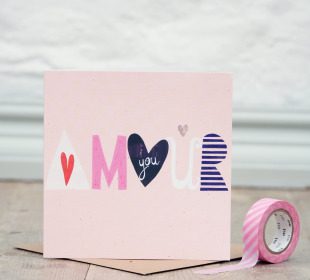 Amour Greetings Card