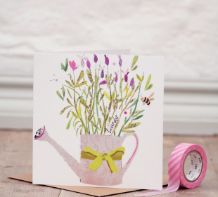 Lovely Lavender Greetings Card