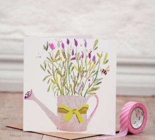 Lovely Lavender Greetings Card