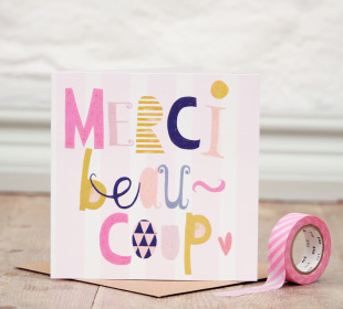 Merci Beaucoup Card